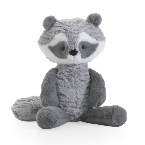 "Little Woodland Plush Raccoon 11"" Suki by Lambs & Ivy"