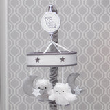 Luna Musical Baby Crib Mobile - Lambs & Ivy