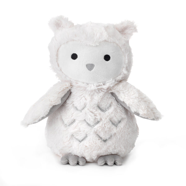 Blanket & Plush Baby Gift Set - White Owl by Lambs & Ivy