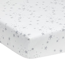 Luna Cotton Fitted Crib Sheet by Lambs & Ivy