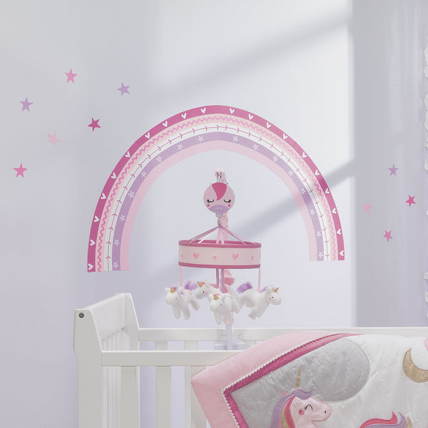 Magic Unicorn Wall Decals - Lambs & Ivy