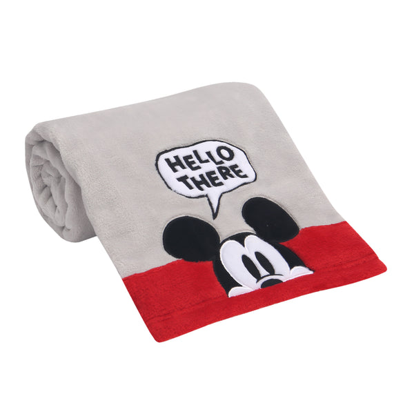 Magical Mickey Mouse Baby Blanket by Lambs & Ivy