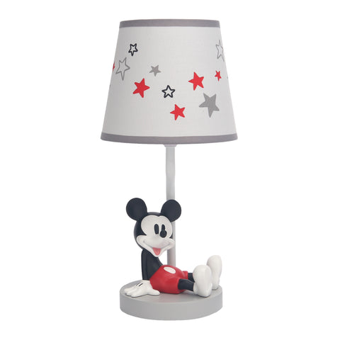 Magical Mickey Mouse Lamp with Shade and Bulb by Lambs & Ivy