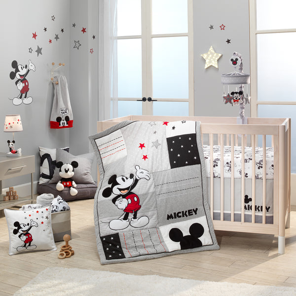 Magical Mickey Mouse 3-Piece Crib Bedding Set by Lambs & Ivy