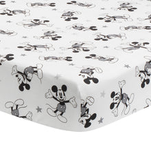 Magical Mickey Mouse Cotton Fitted Crib Sheet by Lambs & Ivy