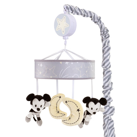 Mickey Mouse Musical Baby Crib Mobile - Lambs & Ivy