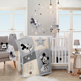 Mickey Mouse 4-Piece Crib Bedding Set by Lambs & Ivy