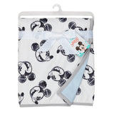 MICKEY MOUSE Baby Blanket - Allover - Lambs & Ivy