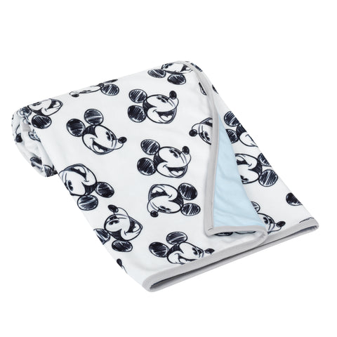 MICKEY MOUSE Baby Blanket - Allover by Lambs & Ivy