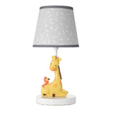 Mighty Jungle Lamp with Shade & Bulb by Bedtime Originals