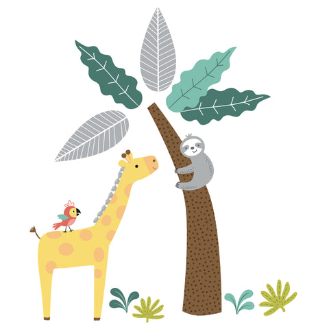 Mighty Jungle Wall Decals by Bedtime Originals