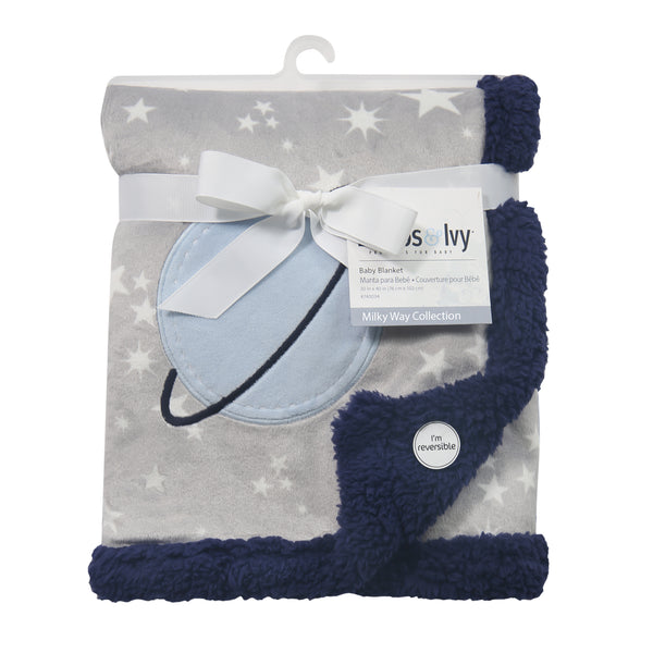 Milky Way Baby Blanket by Lambs & Ivy