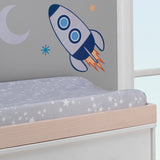 Milky Way Changing Pad Cover - Lambs & Ivy