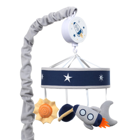 Milky Way Musical Baby Crib Mobile by Lambs & Ivy