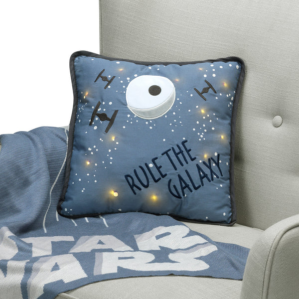 Star Wars Galaxy Light-Up Throw Pillow by Lambs & Ivy