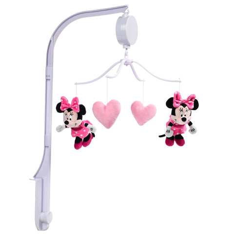 Minnie Mouse Love Musical Baby Crib Mobile by Lambs & Ivy