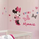 Minnie Mouse Love Wall Decals by Lambs & Ivy