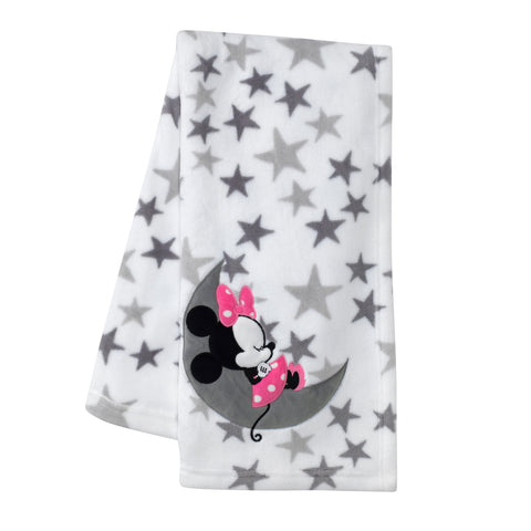 Minnie Mouse Baby Blanket - Lambs & Ivy