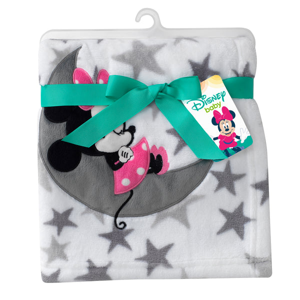 Minnie Mouse Baby Blanket by Lambs & Ivy