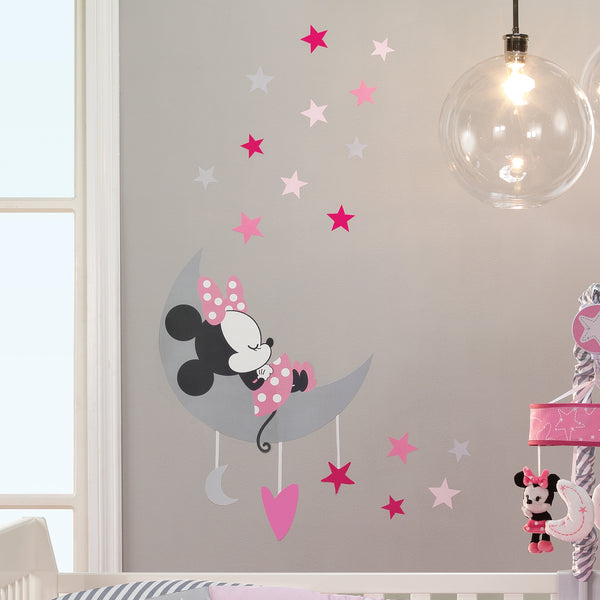 Minnie Mouse Wall Decals - Lambs & Ivy