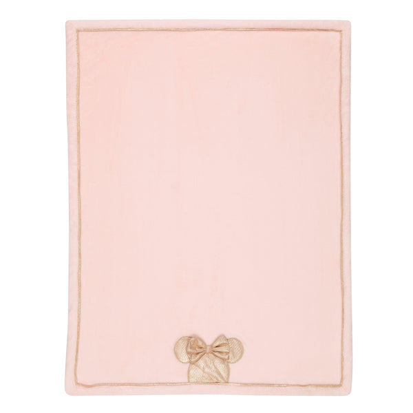 MINNIE MOUSE Appliqued Baby Blanket - Lambs & Ivy
