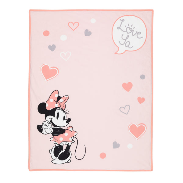 MINNIE MOUSE Picture Perfect Baby Blanket - Lambs & Ivy