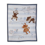 Mod Monkey 3-Piece Bedding Set - Lambs & Ivy