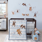 Mod Monkey 3-Piece Bedding Set by Bedtime Originals