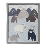 Signature Montana 6-Piece Crib Bedding Set - Lambs & Ivy