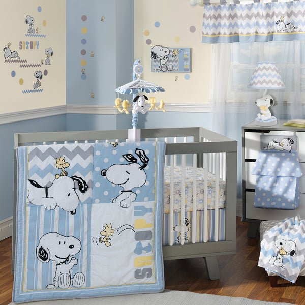 My Little Snoopy Musical Baby Crib Mobile - Lambs & Ivy