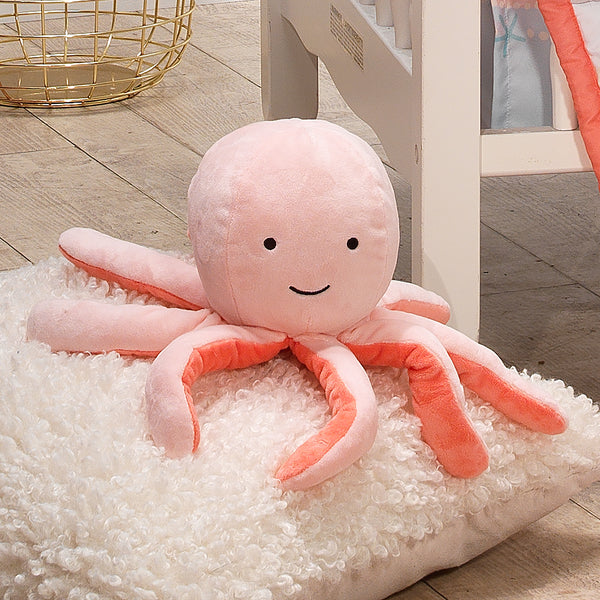 Ocean Mist Plush Octopus - Bubbles by Bedtime Originals