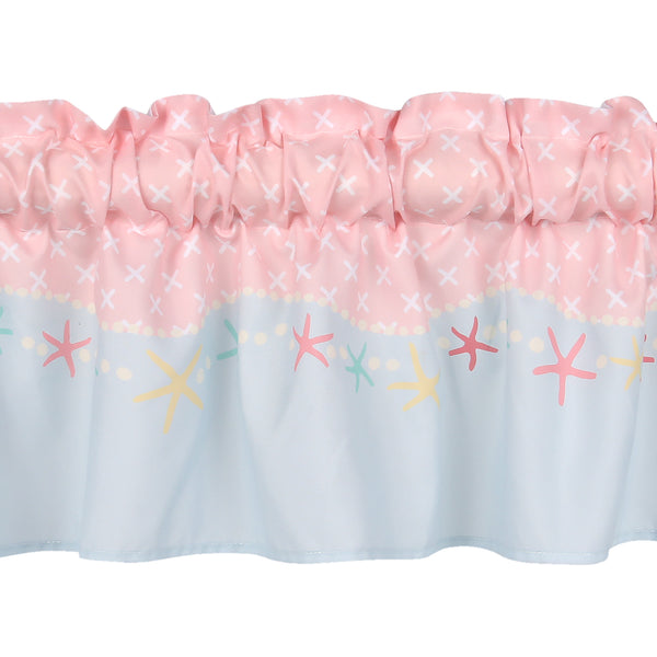 Ocean Mist Window Valance - Lambs & Ivy