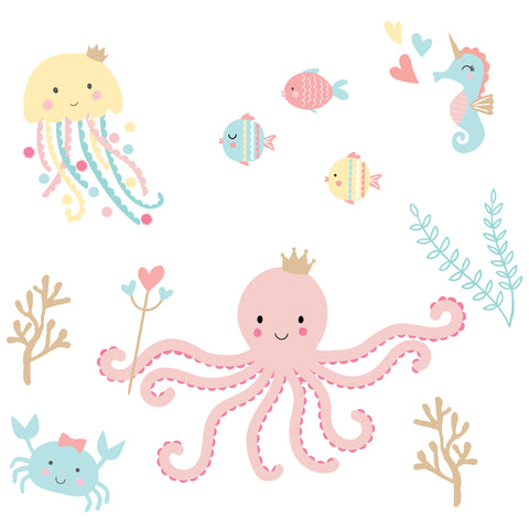 Ocean Mist Wall Decals by Bedtime Originals