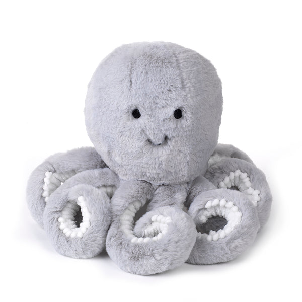 Ocean Blue Plush Octopus - Inky - Lambs & Ivy