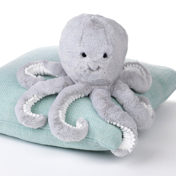 Ocean Blue Plush Octopus - Inky by Lambs & Ivy