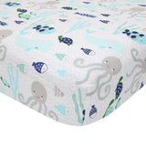 Oceania 6-Piece Crib Bedding Set - Lambs & Ivy