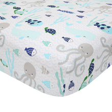 Oceania Cotton Fitted Crib Sheet - Lambs & Ivy