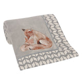 Painted Forest Baby Blanket by Lambs & Ivy