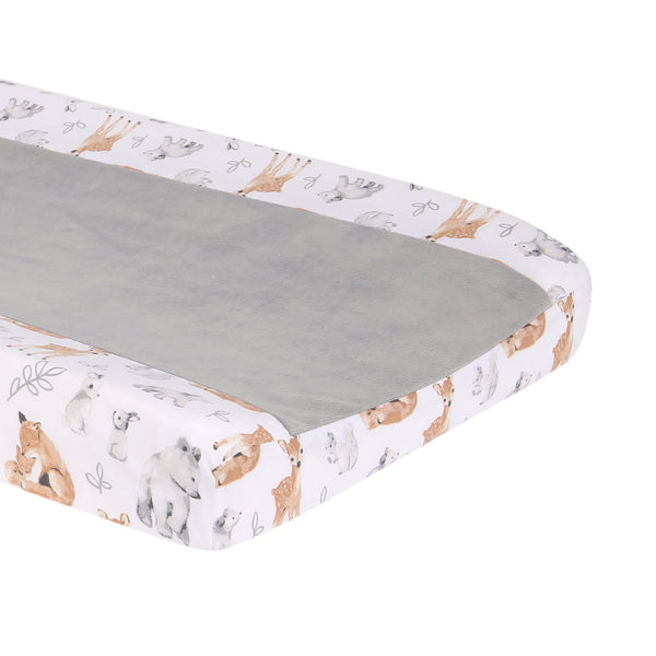 Painted Forest Changing Pad Cover - Lambs & Ivy