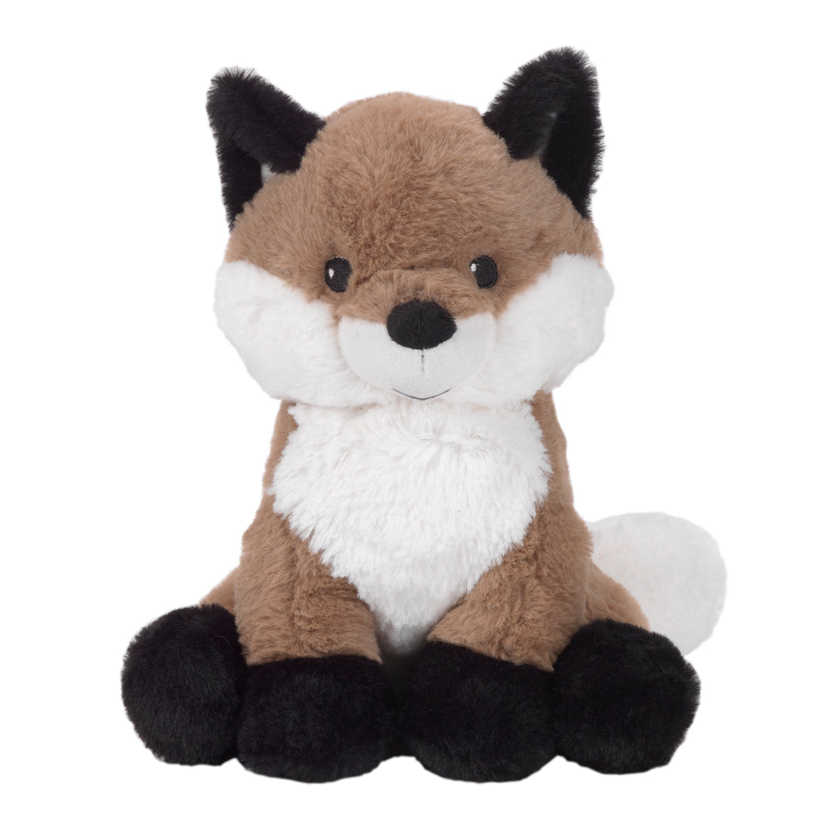 Painted Forest Brown White Plush Fox Stuffed Animal Knox