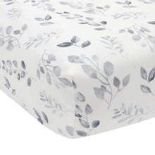 Painted Forest Fitted Crib Sheet - Lambs & Ivy