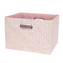 Pink Foldable Storage Basket by Lambs & Ivy