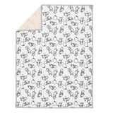 WINNIE THE POOH Baby Blanket - Allover - Lambs & Ivy