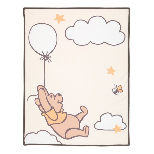 WINNIE THE POOH Picture Perfect Baby Blanket - Lambs & Ivy