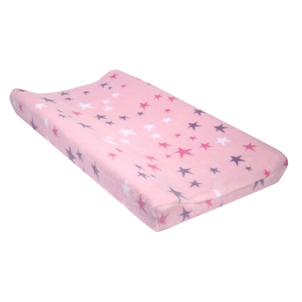Rainbow Unicorn Changing Pad Cover by Bedtime Originals