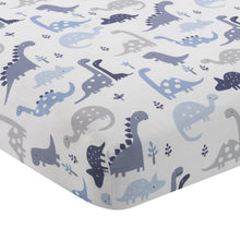 Roar Crib Fitted Sheet - Lambs & Ivy