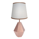 Rose Gold Lamp with Shade & Bulb by Lambs & Ivy