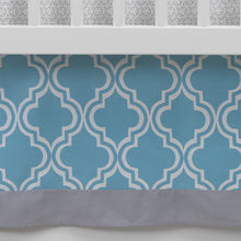 Ryan Collection Geo Crib Skirt by Lambs & Ivy
