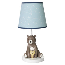 Sierra Sky Lamp with Shade & Bulb - Lambs & Ivy