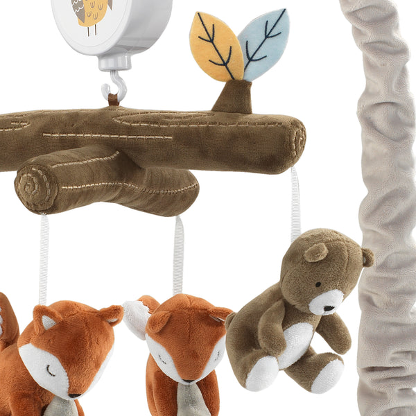 Sierra Sky Musical Baby Crib Mobile - Lambs & Ivy